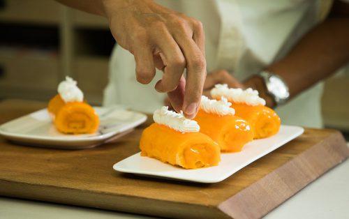 Orange Roll Cake