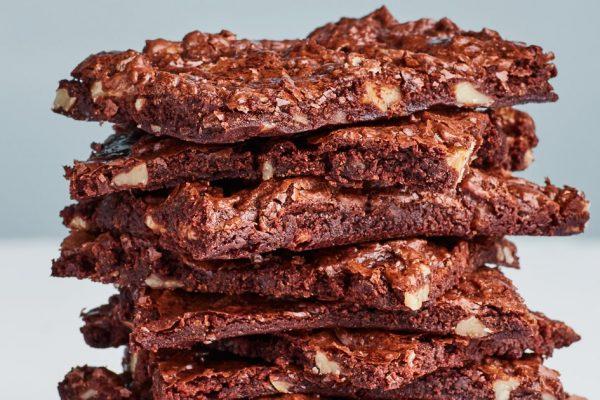Crispy brownies