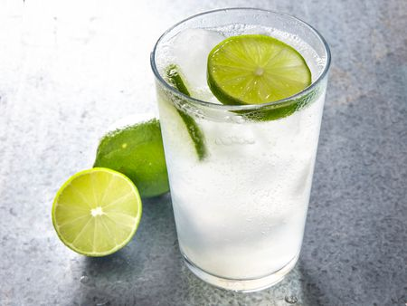 Iced Lemon Soda